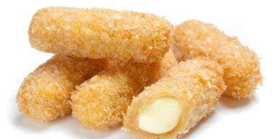 Fingers mozzarella