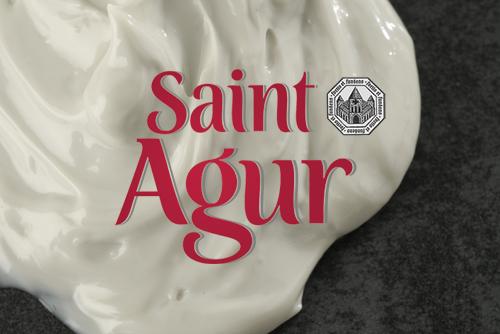 Saint Agur cream