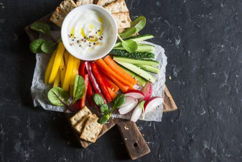 Sauce dip légumes
