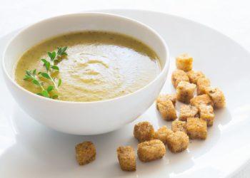 Soupe de potage crème de fromage